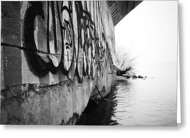 Edmonton Photographer Greeting Cards - Under the Milky Bridge   Greeting Card by Jerry Cordeiro