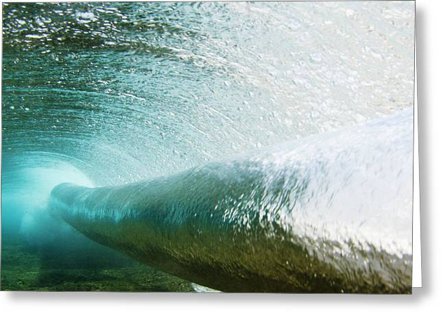 Vince Greeting Cards - Underwater Barrel Greeting Card by Vince Cavataio - Printscapes