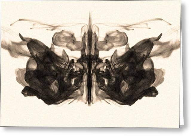 Underwater Butterfly Greeting Card by Sumit Mehndiratta