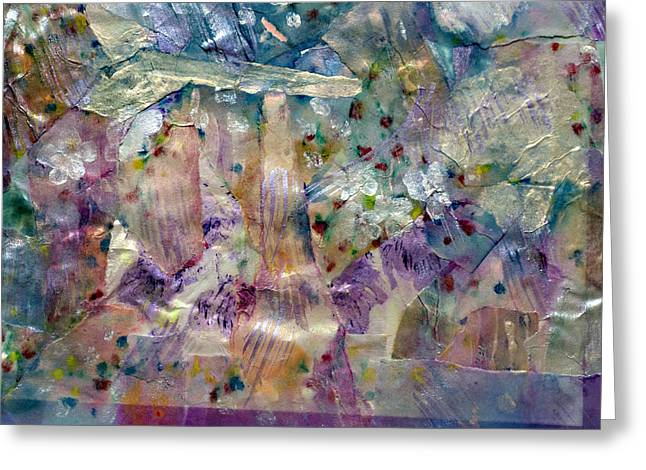 Emanates From Within Greeting Cards - UnderWater Wildflowers Greeting Card by Don  Wright