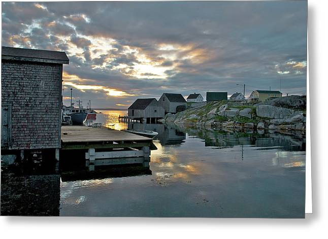Halifax Photography Halifax Nova Scotia Greeting Cards - UNESCO World Heritage Site - Peggys Cove - Nova Scotia Greeting Card by Andre Distel