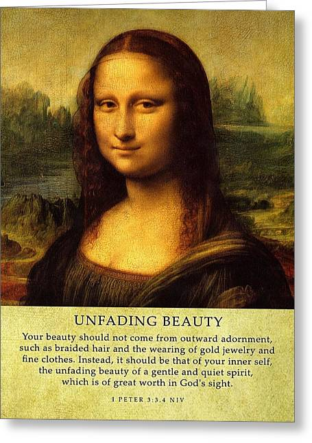 Inner Self Greeting Cards - UnfadingBeauty  Greeting Card by Roman Dela Rosa