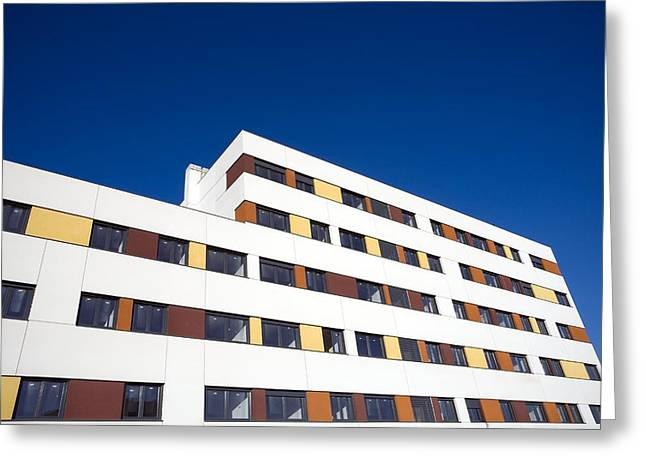 Economic Crisis Greeting Cards - Unfinished Flats, Spain Greeting Card by Carlos Dominguez