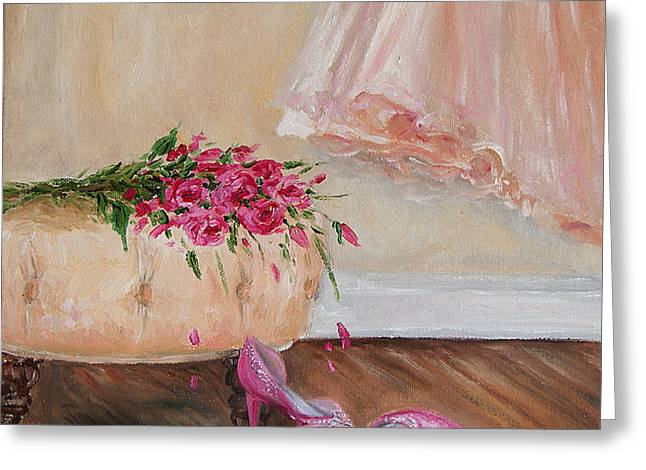 Interior Still Life Greeting Cards - Unforgettable  Greeting Card by Jennifer Beaudet