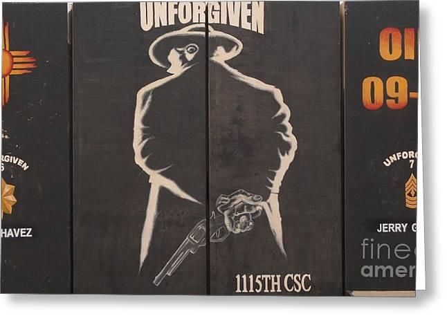 Unforgiven Greeting Cards - Unforgiven Greeting Card by Unknown