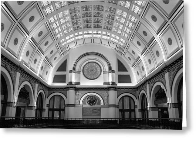 Union Square Greeting Cards - Union Station Greeting Card by Kristin Elmquist