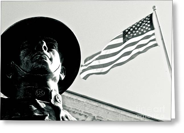 Solidarity Greeting Cards - United We Stand Theme Greeting Card by Syed Aqueel