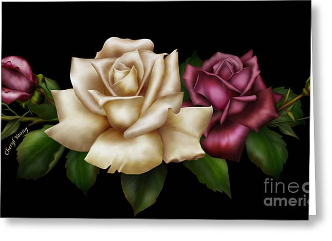 Reverence Greeting Cards - Unity Greeting Card by Cheryl Young