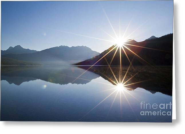 Kintla Lake Greeting Cards - Unspeakable - Just Greeting Card by Scotts Scapes