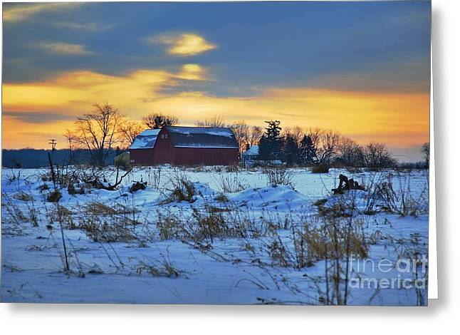 Pastel Artwork Greeting Cards - Until Spring Greeting Card by Robert Pearson