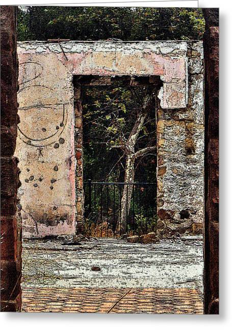 Doorway Digital Greeting Cards - Untitled Greeting Card by Daniele Smith