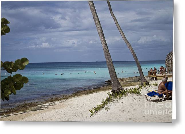 Bayahibe Greeting Cards - Untitled Greeting Card by Nacho Miyashiro
