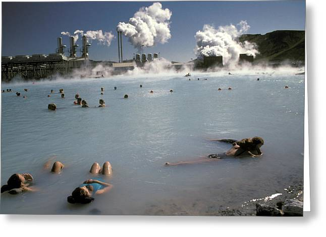 Power Plants Greeting Cards - Untitled Greeting Card by Www.nowitz.com