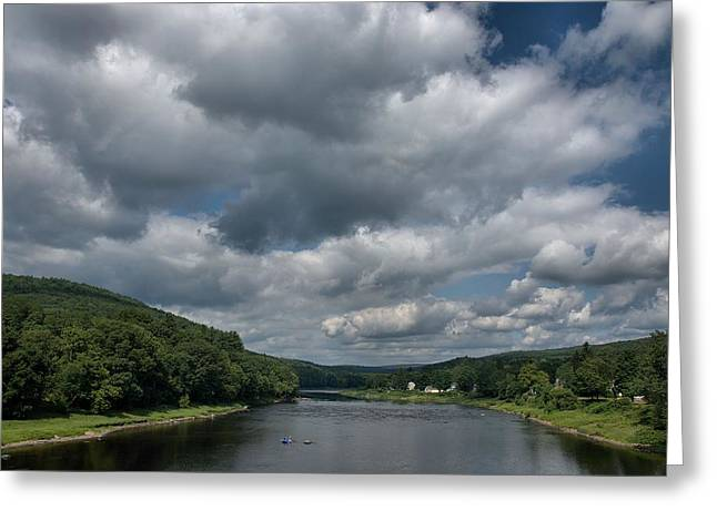 Constable Greeting Cards - Upper Delaware River Greeting Card by Steven Richman