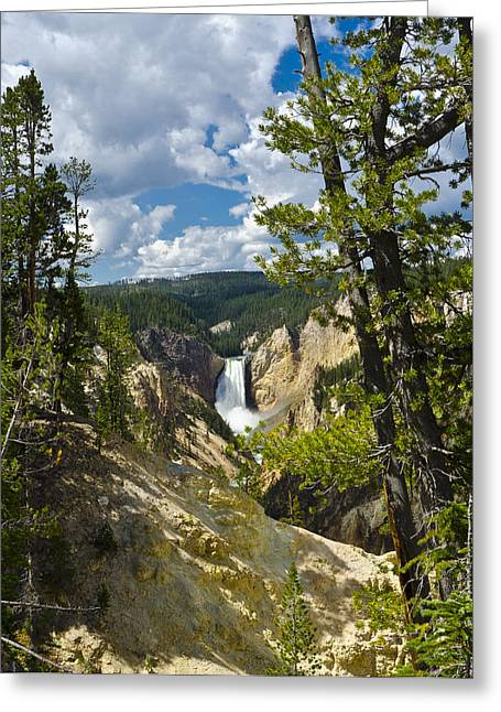 Uncle Tom Greeting Cards - Upper Falls II Greeting Card by Jon Berghoff