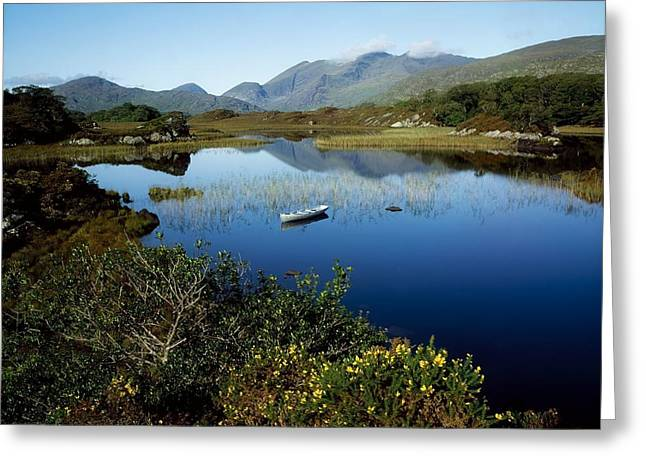 Union Square Greeting Cards - Upper Lake, Killarney National Park, Co Greeting Card by The Irish Image Collection