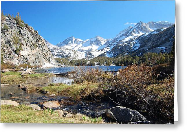 Log Cabins Greeting Cards - Upper Lakes Greeting Card by Kirk Williams