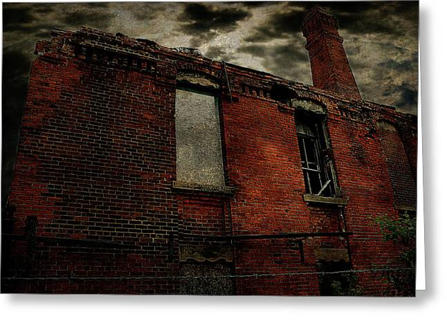 Rail Greeting Cards - Urban Decay Greeting Card by Scott Hovind