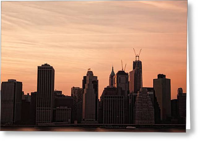 Manhattan Greeting Cards - Urban Dreaming Greeting Card by Andrew Paranavitana