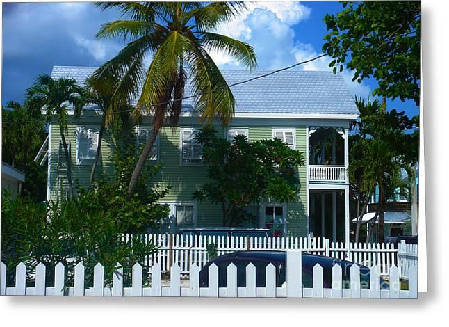 Urban Key West  Greeting Card by Susanne Van Hulst