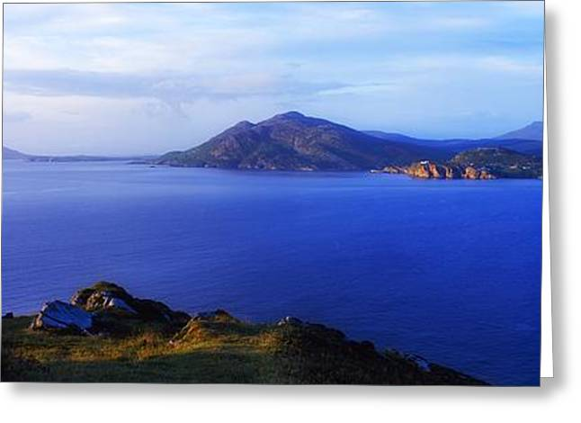 Ocean Photography Greeting Cards - Urris Hills, Inishowen, County Donegal Greeting Card by The Irish Image Collection