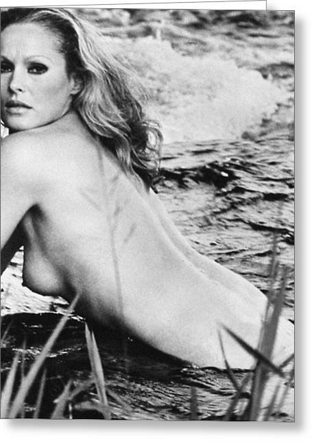 1960s Movies Greeting Cards - URSULA ANDRESS (b. 1936) Greeting Card by Granger