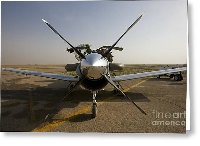 Iraq Greeting Cards - U.s. Air Force Pilots Run Pre-flight Greeting Card by Terry Moore