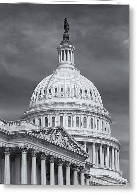 U.s. Capitol Greeting Cards - US Capitol Building IV Greeting Card by Clarence Holmes