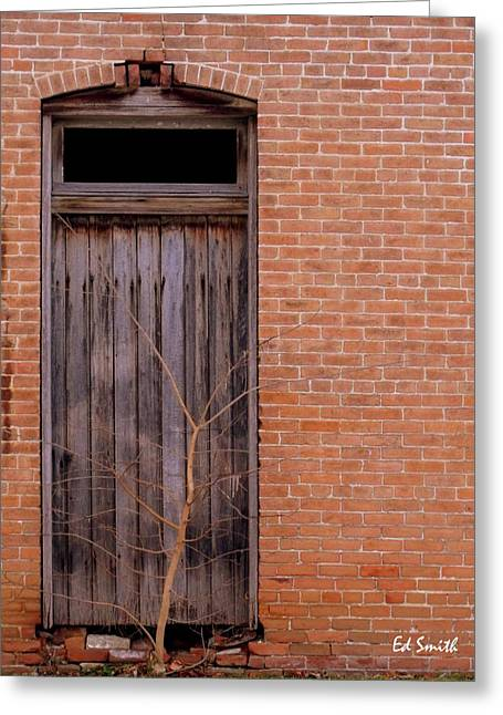 Entrance Door Digital Art Greeting Cards - Use Side Entrance Greeting Card by Ed Smith