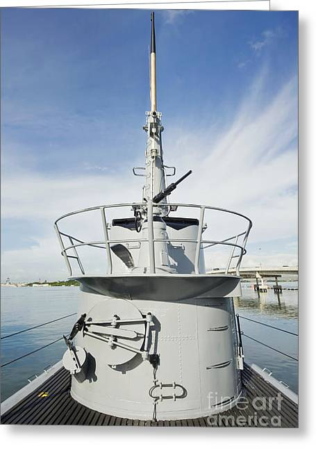 Hawii Greeting Cards - USS Bowfin Greeting Card by Rob Tilley