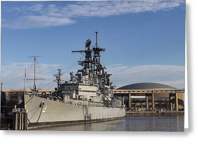 Western New York Greeting Cards - USS Little Rock 2 Greeting Card by Peter Chilelli