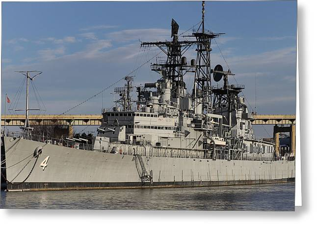 Western New York Greeting Cards - USS Little Rock Greeting Card by Peter Chilelli