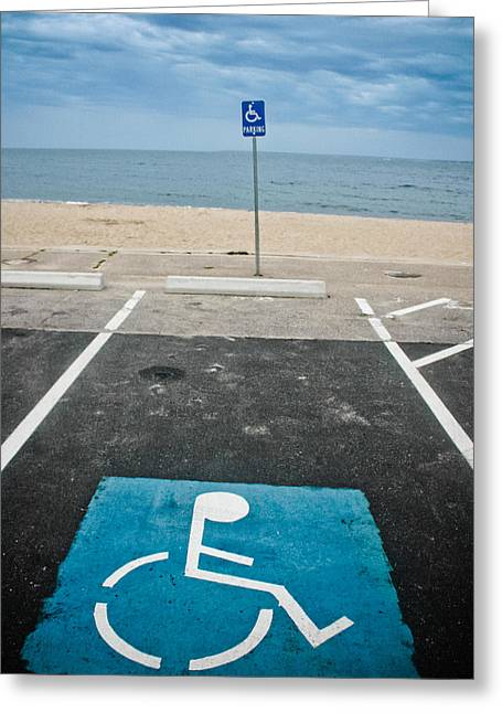 Paralyzed Greeting Cards - Vacation Greeting Card by Ben Porway