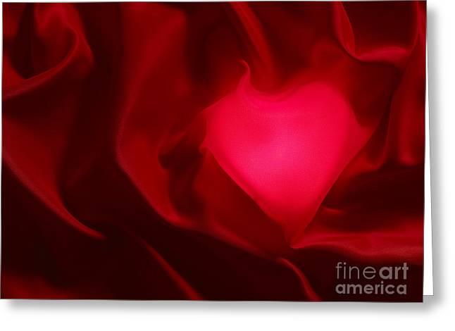 Valentine Heart Greeting Card by Tony Cordoza