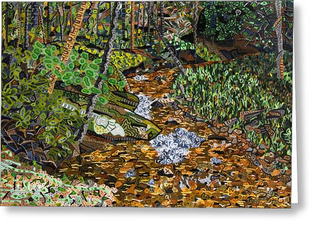 Valle Crucis Greeting Cards - Valle Crucis 3 - Crab Orchard Creek Greeting Card by Micah Mullen