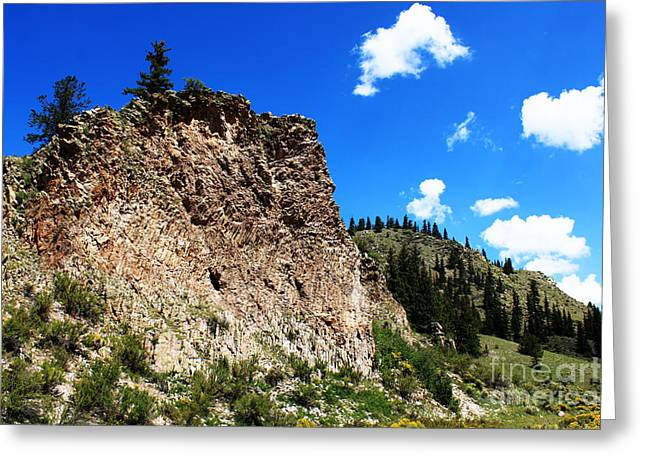 Val Armstrong Greeting Cards - Valle Vidal Rocky Mountain Greeting Card by Val Armstrong
