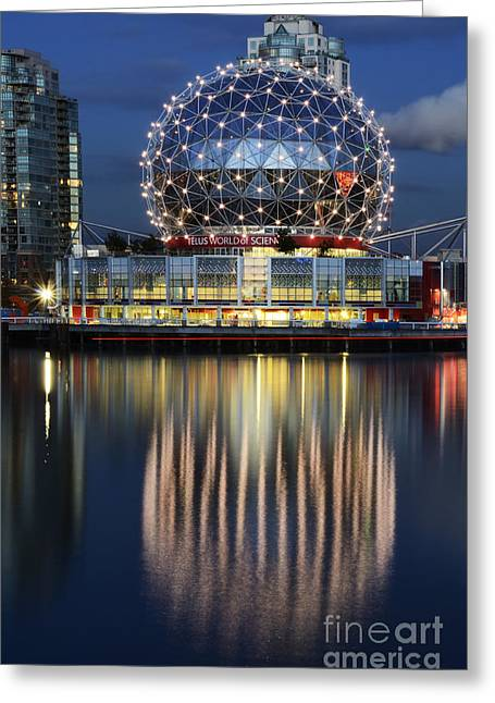 Telus Greeting Cards - Vancouver British Columbia 1 Greeting Card by Bob Christopher