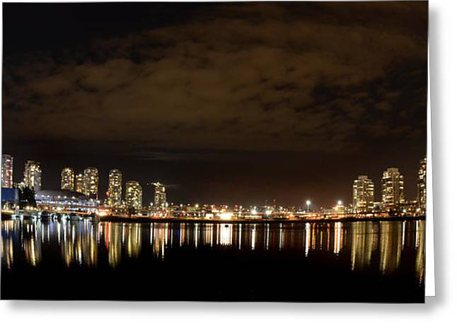 Telus Greeting Cards - Vancouver British Columbia 4 Greeting Card by Bob Christopher