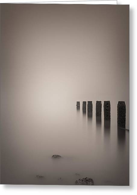Andy Astbury Greeting Cards - Vanishing Point Greeting Card by Andy Astbury