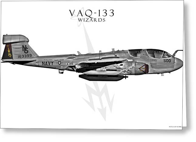 Fa-18 Greeting Cards - VAQ-133 Prowler Greeting Card by Clay Greunke