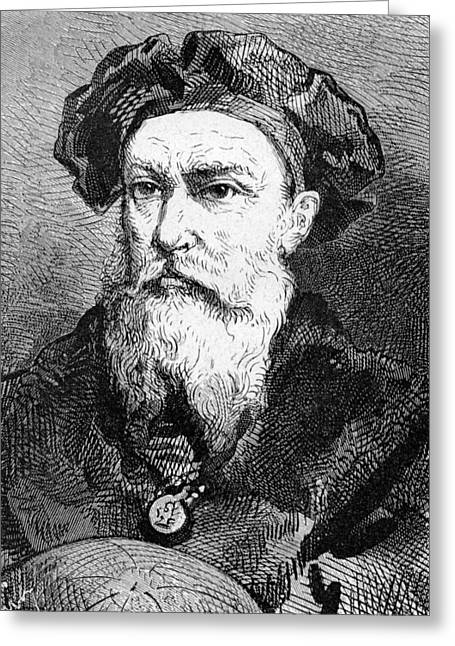 Surname G Greeting Cards - Vasco Da Gama, Portuguese Explorer Greeting Card by