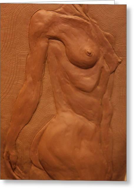 Ballet Ceramics Greeting Cards - Vase series II Greeting Card by Dan Earle