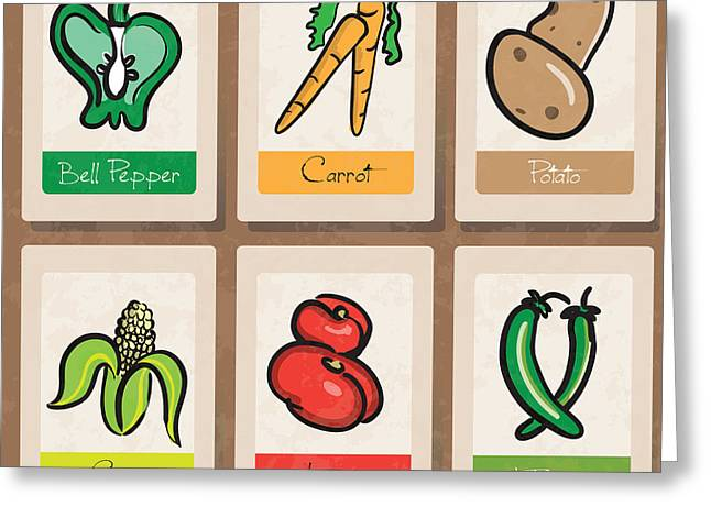 Jalapeno Greeting Cards - Vegetables Greeting Card by HD Connelly