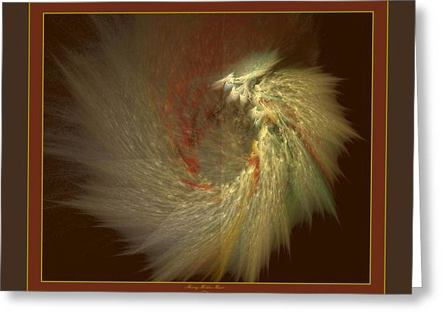 Earthtone Greeting Cards - Velutinous Light Greeting Card by Sherry Holder Hunt