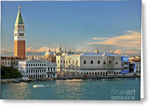 Kate Mckenna Greeting Cards - Heart of Venice Greeting Card by Kate McKenna