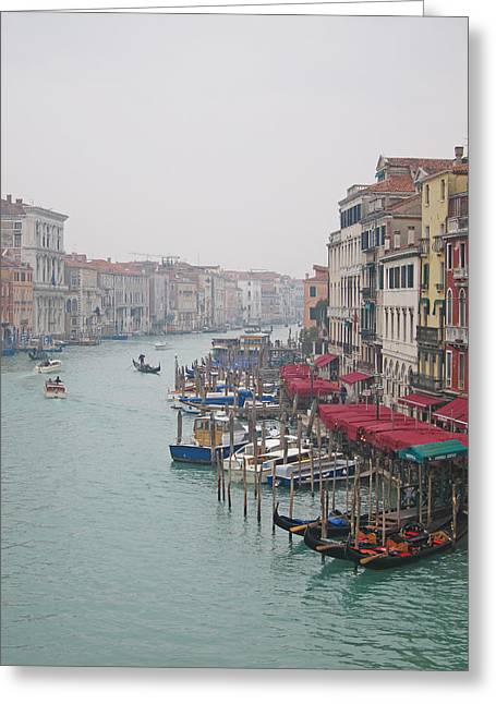 Gran Canal Greeting Cards - Veneziana 025 Greeting Card by Per Lidvall
