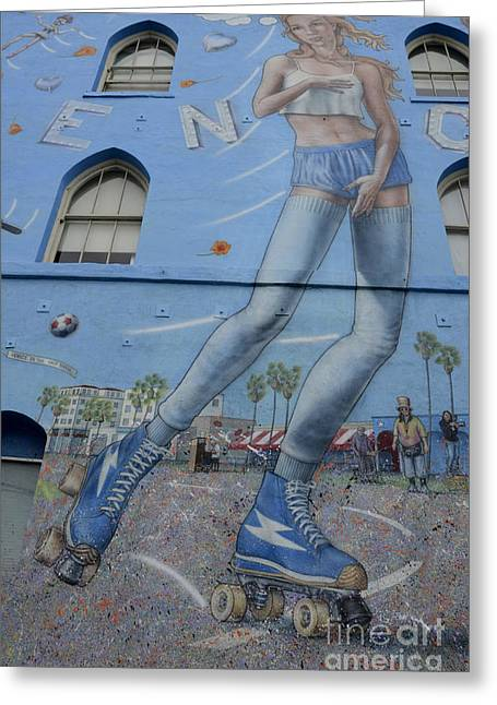 Artist Statements Greeting Cards - Venice Beach Wall Art 9 Greeting Card by Bob Christopher