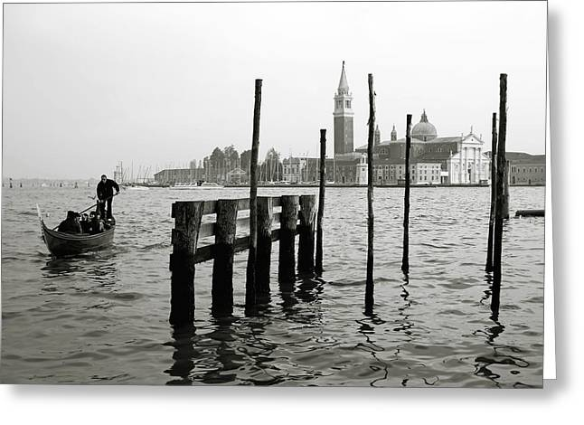 Canal Grande Greeting Cards - Venice Canal Grande II Greeting Card by Nina Papiorek