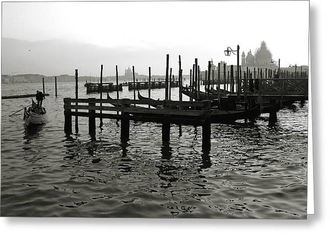 Canal Grande Greeting Cards - Venice Canal Grande III Greeting Card by Nina Papiorek