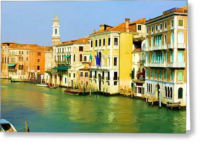 Venice Greeting Card by Photography Art